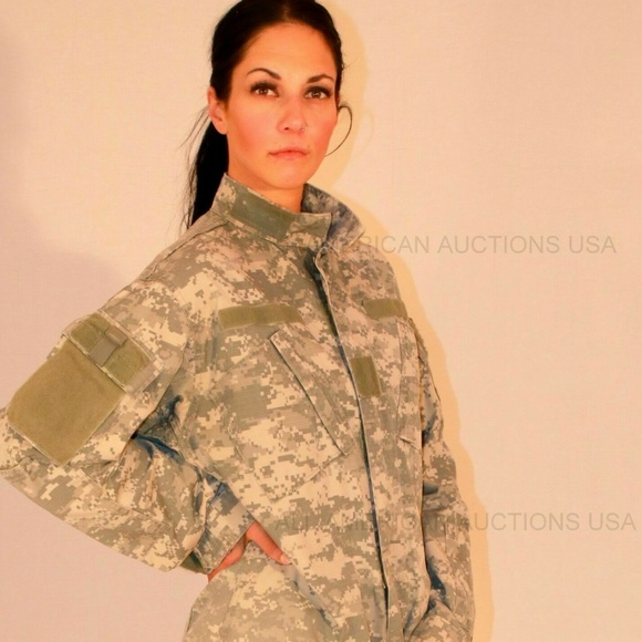 ARMY COMBAT UNIFORM ACU JACKET FRACU